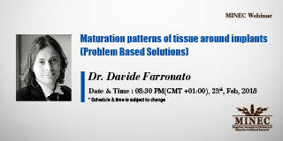 Dr. Davide Farronato - Maturation patterns of tissue around implants (PBS)