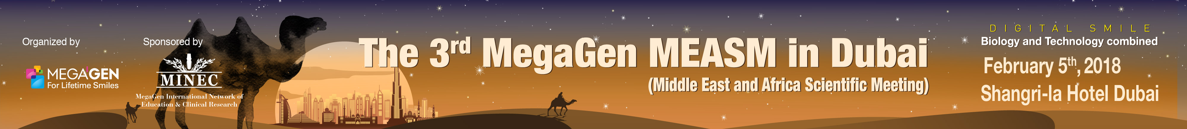 The 3rd MegaGen MEASM in Dubai