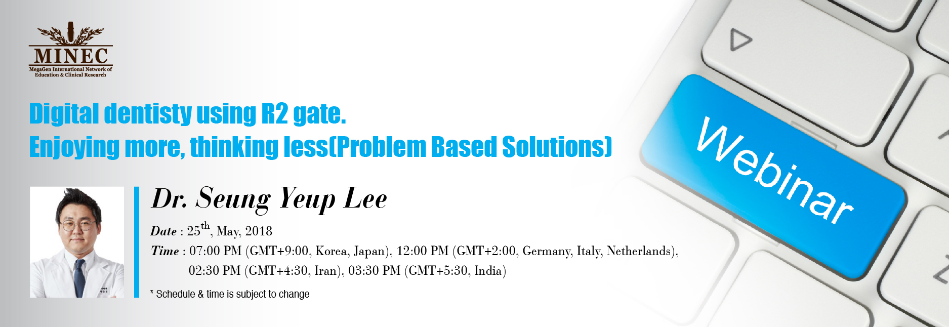 MINEC webinar - Dr. Seung Yeup Lee